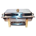 Rental store for CHROME AND BRASS 8QT CHAFER in Kansas City KS