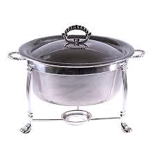 Where to rent SILVER 4QT RND CHAFER in Kansas City KS, Overland Park KS, Lenexa, Lee's Summit MO, Shawnee KS, Olathe KS, Kansas City MO