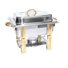 Where to find CHROME AND BRASS 4QT CHAFER in Kansas City