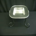 Rental store for PEWTER SQUARE BOWL W HANDLES W  STAND in Kansas City KS