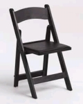 Rental store for CHAIR BLACK RESIN-FOLDING in Kansas City KS