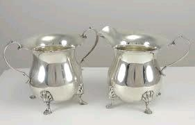 Where to find SILVER CREAMER ORNATE - FOOTED in Kansas City