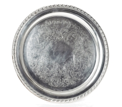 Rental store for ROUND SILVER TRAYS in Kansas City KS