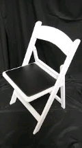 Rental store for CHAIR WHITE WOOD TUXEDO in Kansas City KS