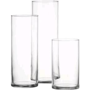 Where to find GLASS 6  CYLINDER VASE in Kansas City