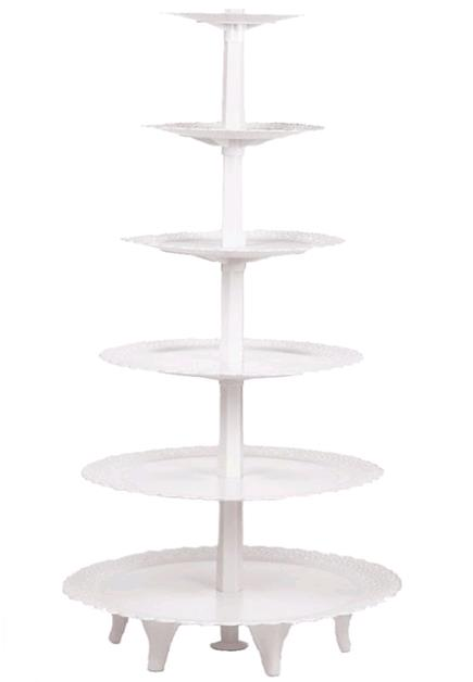 Where to rent WHITE 5 TIER ROUND CUPCAKE TOWER in Lenexa, Kansas City KS, Overland Park KS, Lee's Summit MO, Shawnee KS, Olathe KS, Kansas City MO