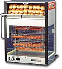 Hot Dog Machine W Bun Warmer Rentals Kansas City Ks