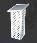 Rental store for BOOK STAND GUEST WHITE LATTICE in Kansas City KS