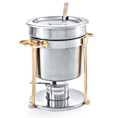 Where to rent CHROME AND BRASS7QT SOUP TUREEN in Lenexa, Kansas City KS, Overland Park KS, Lee's Summit MO, Shawnee KS, Olathe KS, Kansas City MO
