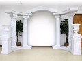 Rental store for WHITE ROMAN ARCH CURVED PIECE in Kansas City KS