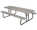 Rental store for PLASTIC FOLDING PICNIC TABLE in Kansas City KS