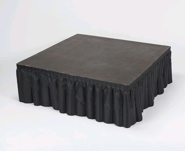 Where to find 12FT BLACK STAGE SKIRT 8  HIGH in Kansas City