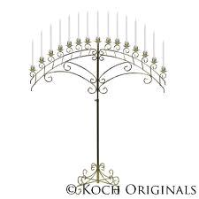 Where to find CANDELABRA WHITE FLOWER 15 BRANCH FAN in Kansas City