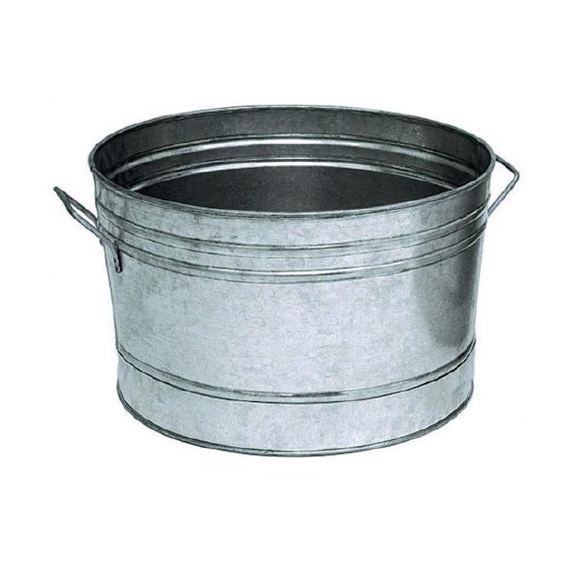 Where to rent ZINC TUB OVAL SMALL in Lenexa, Kansas City KS, Overland Park KS, Lee's Summit MO, Shawnee KS, Olathe KS, Kansas City MO