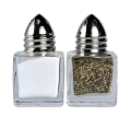Rental store for CUBE SALT   PEPPER SHAKER SILVER in Kansas City KS