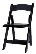 Where to rent CHAIR BLACK WOOD in Lenexa, Kansas City KS, Overland Park KS, Lee's Summit MO, Shawnee KS, Olathe KS, Kansas City MO