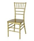 Rental store for CHAIR CHIAVARI GOLD in Kansas City KS